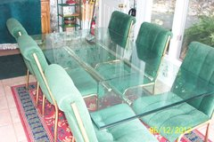 Glass Top Dining Room Table and chairs in Cadiz, Kentucky