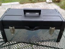 """New - Stack-On 22"""" Professional Steel / Plastic Tool Box with Galvanized Steel Tread Plate Design in Ramstein, Germany"""