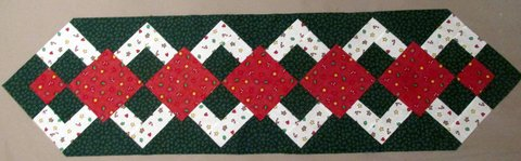Holiday Patchwork Table Runners Tops in Perry, Georgia