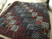 Hand stitched quilt in Beaufort, South Carolina
