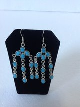 New! Sterling Silver 925 Earrings turquoise in Clarksville, Tennessee