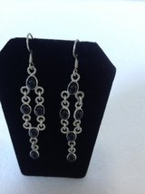 New! Sterling Silver 925 Earrings Black onyx in Clarksville, Tennessee