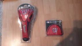 Washington Nationals Driver and Putter Headcover in Ramstein, Germany