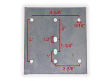 3 New Metal E-Track Backing Plate in Naperville, Illinois