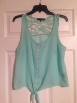 Mint Sheer Top in Fort Riley, Kansas