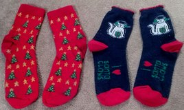 CHRISTMAS ANKLE SOCKS x2 PAIRS in Lakenheath, UK