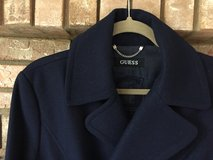 Guess Wool Coat in Navy in Naperville, Illinois