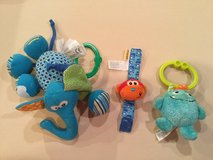 Baby pull toys and rattle in Aurora, Illinois