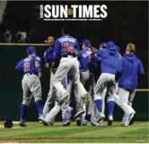 Chicago Sun Times 11/3 Cubs World Series Newspaper in Aurora, Illinois