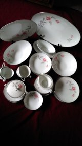 Vintage Noritake Rosemarie Fine China Dinnerware Japan # 6044 in Houston, Texas