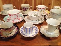 vintage tea cups & saucers in Westmont, Illinois