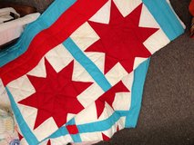 Red star quilt in Beaufort, South Carolina