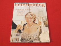 Martha Stewart 1st Ever ENTERTAINING SPECIAL ISSUE: Celebrate 2000! New Year's Suppers, Parties,... in Brookfield, Wisconsin