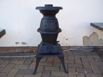 Wood burner in Lakenheath, UK