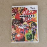 Bakugan Wii Video Game Like New in Fairfield, California