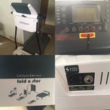 Brand new lifespan fold and stor treadmill in Elgin, Illinois