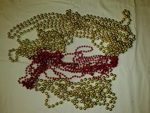 Stands of Beads / Gold & Red in Ramstein, Germany