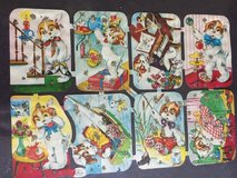 Vintage Die Cuts - Animals in The Woodlands, Texas