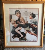 Framed Norman Rockwell Pictures in Warner Robins, Georgia