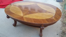 Bassett / Oak / Inlaid / Wood Coffee Table in Fort Campbell, Kentucky