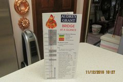 """""""Bridge At A Glance"""" - Instruction Book By Audrey Grant in Houston, Texas"""