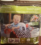 Infantino Buddy Guard 2-in-1 Shopping Cart and High Chair Cover. in Aurora, Illinois