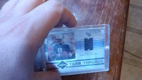 Earl Campbell / Steve Mcnair jersey card in Fort Bliss, Texas