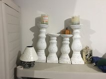 Candle holders set of 4 in Fort Riley, Kansas
