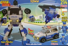 Best Lock Town Police 214 Pieces Building Block Toy in Tinley Park, Illinois