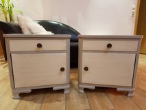 2 Matching Shabby Chic Nightstands in Ramstein, Germany