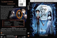 Corpse Bride on DVD in Camp Pendleton, California