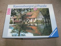 """Ravensburger Puzzle """"Watermill"""" in Ramstein, Germany"""