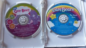 2 Care Bear DVDS in Fort Campbell, Kentucky