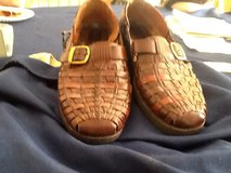Stacy Adams mens  Brwn size 10 leather in Lockport, Illinois