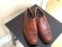 Mens Slip ons Clarks size 11M in Lockport, Illinois