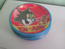 Tom and Jerry Paper Plates(Hallmark) in Orland Park, Illinois