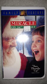 Miracle on 34th Street (VHS) in Perry, Georgia