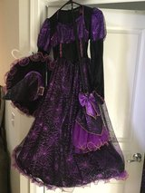 Girl's Witch costume -Size Big Girl 10 in Naperville, Illinois