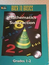Back to basics mathematics subtraction in Okinawa, Japan