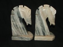 Onyx Horse Head Bookends in Glendale Heights, Illinois