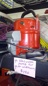 Vacuum pump for air conditioning in Yucca Valley, California