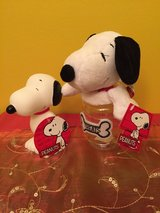 Bundle Peanuts Snoopy for your dog toys / dog supplies in Oswego, Illinois
