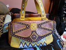 Nicole Lee large yellow handbag in Fort Bragg, North Carolina