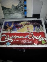 Christmas-opoly in Fort Lewis, Washington