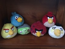 Angry birds plush balls in Glendale Heights, Illinois