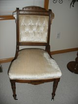 Antique chair in Naperville, Illinois