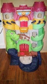 Imaginext Dragon Castle in Houston, Texas