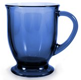 NEW Anchor Hocking 16-Ounce Blue Cafe Mug in Hinesville, Georgia