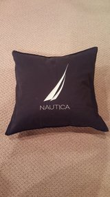 Nautica Navy Throw Pillow Cover in Chicago, Illinois
