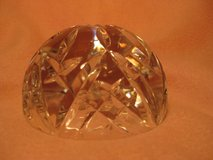 Cut Crystal Paperweight in Lockport, Illinois
